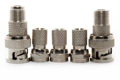 De adapters van het metaal Stock Foto
