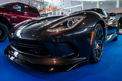 De Addergts Coupé van sportwagendodge SRT, 2014 Stock Afbeeldingen