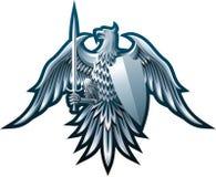 De adelaar van het ijzer royalty-vrije illustratie
