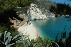 De Adriatische kust van Italys Stock Foto's