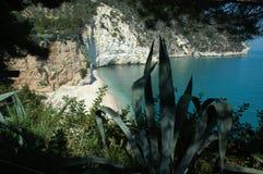 De Adriatische kust van Italys Royalty-vrije Stock Afbeeldingen