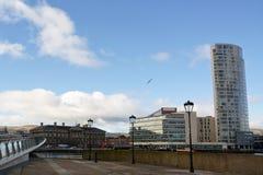 De aduanas centro de la ciudad adentro de Belfast Fotografía de archivo
