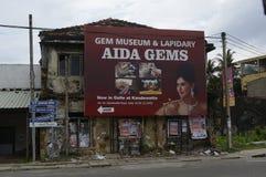 De Adverterende Raad van Srilankan Stock Afbeeldingen