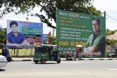 De Adverterende Raad van Srilankan Stock Afbeelding