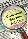 De Adviseur van de klantendienst wordt lid van Ons Team 3d Royalty-vrije Stock Foto