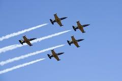 De aerobatic groep Russ Royalty-vrije Stock Foto