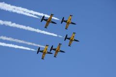 De aerobatic groep Russ Stock Fotografie