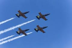 De aerobatic groep Russ Royalty-vrije Stock Afbeeldingen