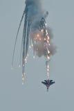 De aerobatic teams van de toespraak in MAKS 2011 Royalty-vrije Stock Afbeeldingen