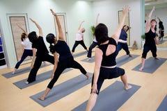 De aerobics van de groep Stock Afbeelding