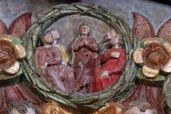 De afdaling van de Heilige Geest Royalty-vrije Stock Afbeelding