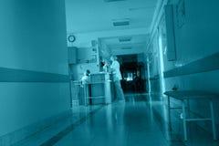 De afdeling van de intern verpleegde patiënt Stock Foto