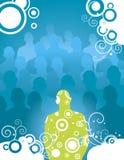 De affiche van de disco Royalty-vrije Stock Afbeelding