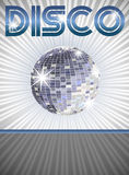 De affiche van de disco Stock Foto