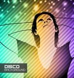 De affiche van de discopartij Royalty-vrije Stock Afbeelding