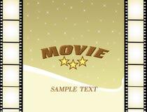 De affiche van de film Stock Foto