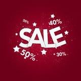 De affiche van de verkoop Stock Fotografie