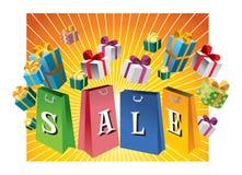 De affiche van de verkoop Royalty-vrije Stock Afbeeldingen