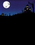De affiche van Halloween Royalty-vrije Stock Foto's