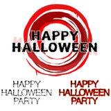 De affiche van Halloween royalty-vrije stock afbeeldingen