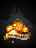 De Affiche van Halloween | Voorwerpen die op lagen worden gescheiden nam Royalty-vrije Stock Foto's
