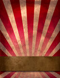 De affiche van het circus Stock Afbeelding