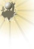 De affiche van het golf stock illustratie