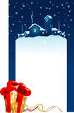 De affiche van Kerstmis Stock Foto's