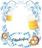De Affiche van Oktoberfest Royalty-vrije Stock Foto