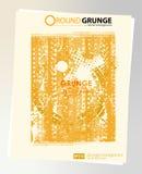 De afficheachtergrond van Grunge Royalty-vrije Stock Afbeelding