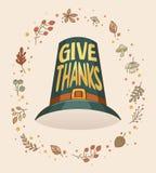 De afficheontwerp van de dankzeggingskaart Royalty-vrije Stock Fotografie