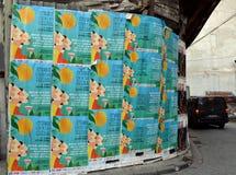De affiches van het de Cocktailfestival van Istanboel royalty-vrije stock foto