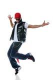 De Afrikaanse Amerikaanse Danser van Hip Hop stock fotografie