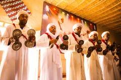 De Afrikaanse Band van de Muziek Stock Fotografie