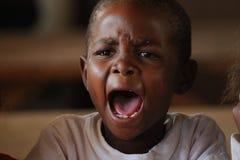 De Afrikaanse kinderen van de School Stock Foto