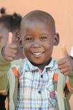 De Afrikaanse kinderen van de School Royalty-vrije Stock Afbeeldingen