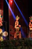 De Afrikaanse trommel toont in nieuw jaar toon Royalty-vrije Stock Afbeeldingen