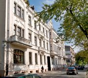 De afscheidingbouw in Czestochowa Stock Fotografie