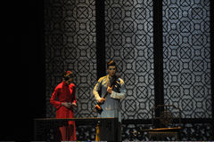 De afscheids-tweede handeling van de gebeurtenissen van dans drama-Shawan van het verleden Stock Afbeelding