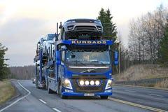 De Afstanden Nieuwe Waaier Rover Vehicles van Volvo FM Royalty-vrije Stock Foto's