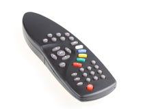 De afstandsbediening van de televisie. stock afbeelding