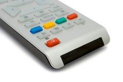 De afstandsbediening van de televisie royalty-vrije stock foto's