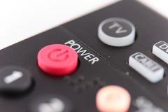 De afstandsbediening van de televisie Royalty-vrije Stock Afbeeldingen