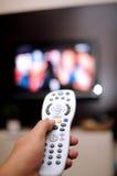 De afstandsbediening van TV Royalty-vrije Stock Afbeelding