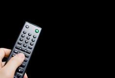 De afstandsbediening van TV Royalty-vrije Stock Foto