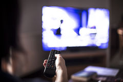 De afstandsbediening van TV Royalty-vrije Stock Fotografie
