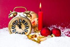 De Aftelprocedure van het nieuwjaar Royalty-vrije Stock Foto's