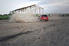 De afwijking van BMW e34 Stock Foto