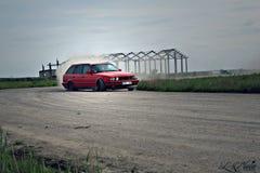 De afwijking van BMW e34 Royalty-vrije Stock Afbeeldingen