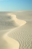 De Afwijking van het zand Stock Foto